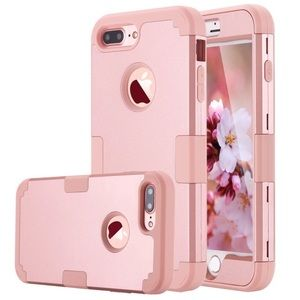 Rose Gold iPhone 7 Plus Protective Case